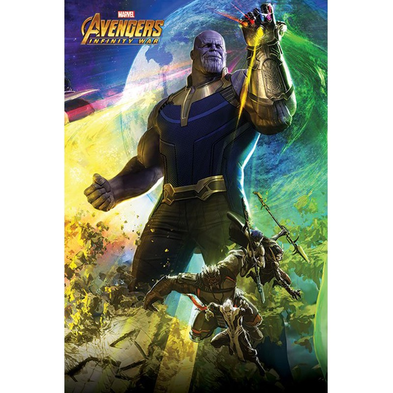 Avengers Infinity War - Poster Thanos  - POSTERS & AFFICHES