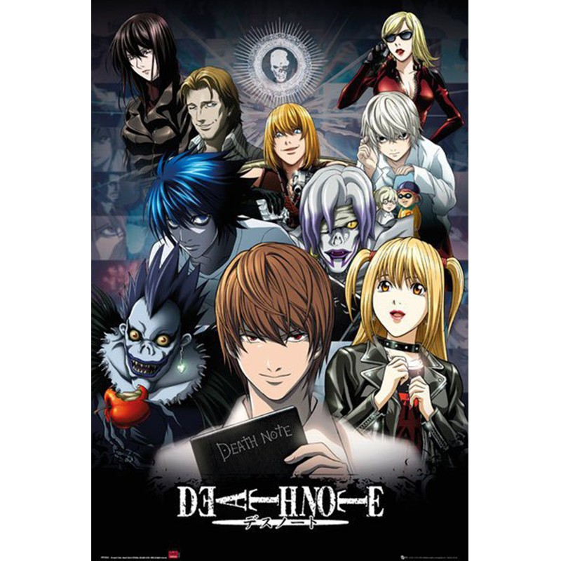 Poster Death Note Collage  - POSTERS & AFFICHES