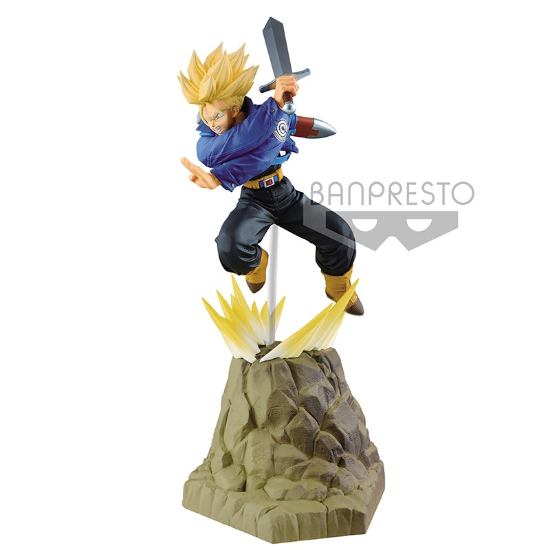 Figurine Trunks SSJ - Absolute Perfection  -  DRAGON BALL Z