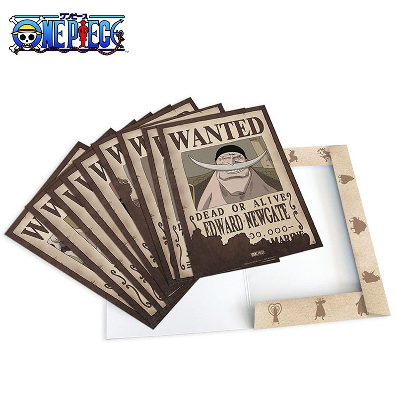 One Piece - Collection 9 Affiches Wanted  -  ONE PIECE