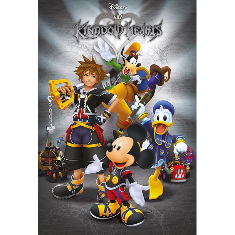 Poster Kingdom Hearts  - POSTERS & AFFICHES