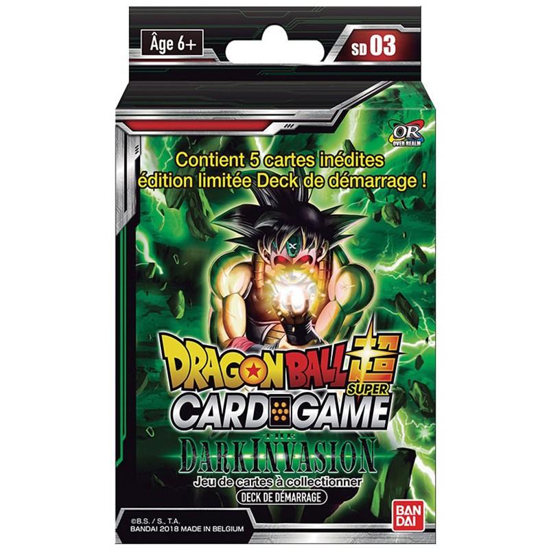 Dragon Ball Super JCC - Deck de Démarrage Dark Invasion  -  DRAGON BALL Z