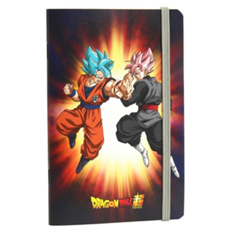 Carnet Goku Blue vs Black Goku Rosé  - FOURNITURES SCOLAIRES