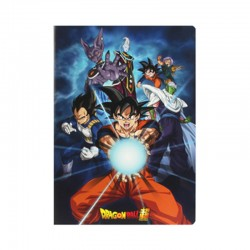 Cahier Dragon Ball Super - Kamehameha  - FOURNITURES SCOLAIRES