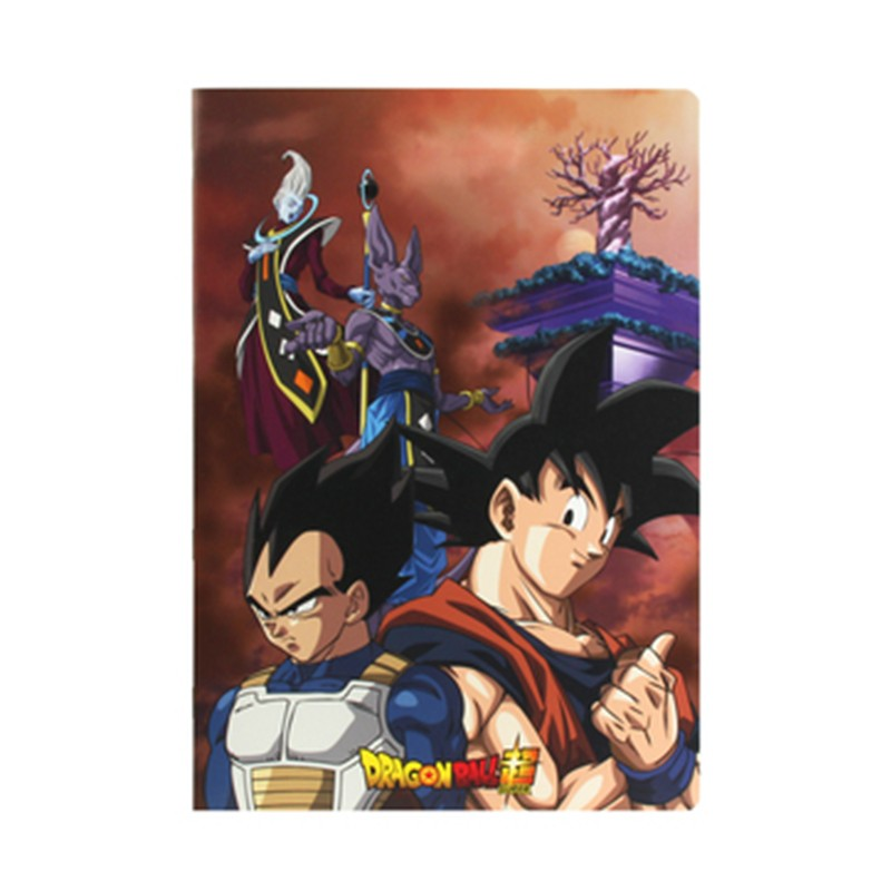 Cahier Dragon Ball Super - Beerus world  - FOURNITURES SCOLAIRES