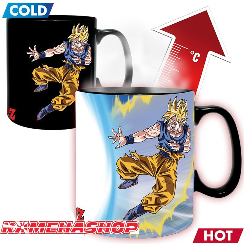 Dragon Ball Z - Mug Thermo-Réactif Goku vs Buu  -  DRAGON BALL Z