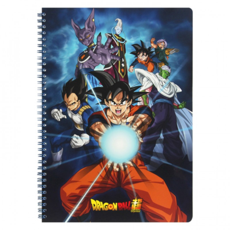 Dragon Ball Super - Cahier Spirale 240P model A  - FOURNITURES SCOLAIRES