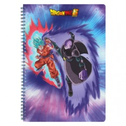 Dragon Ball Super - Cahier Spirale 240P model B  - FOURNITURES SCOLAIRES