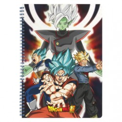 Dragon Ball Super - Cahier Spirale 240P model C  - FOURNITURES SCOLAIRES