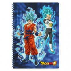 Dragon Ball Super - Cahier Spirale 240P model D  - FOURNITURES SCOLAIRES