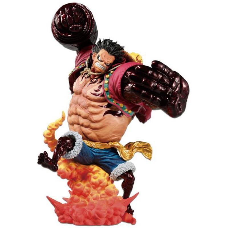 One Piece - Figurine Luffy Gear 4 Kong Gun  -  ONE PIECE