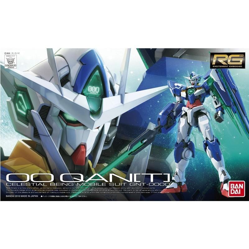 Gundam 00 QANT - RG  -  GUNDAM