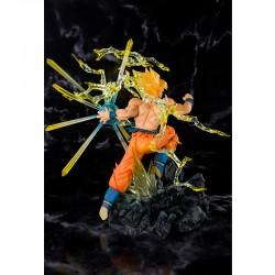Figurine Goku SSJ - Battle Zero  -  DRAGON BALL Z