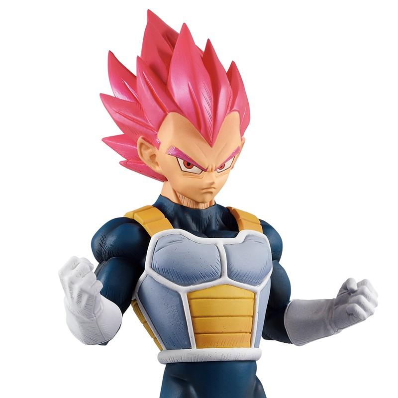 Figurine Vegeta Super Saiyan God  -  DRAGON BALL Z