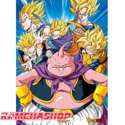 Dragon Ball Z - Poster Buu vs Super Saiyans  - POSTERS & AFFICHES