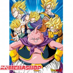 Dragon Ball Z - Poster Buu vs Super Saiyans  - POSTERS & AFFICHES
