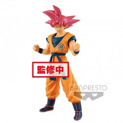Figurine Goku Super Saiyan God  -  DRAGON BALL Z