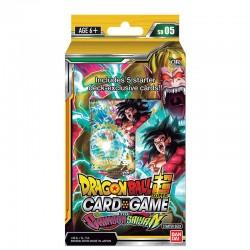 Dragon Ball Super - Deck The Crimson Saiyan  -  DRAGON BALL Z