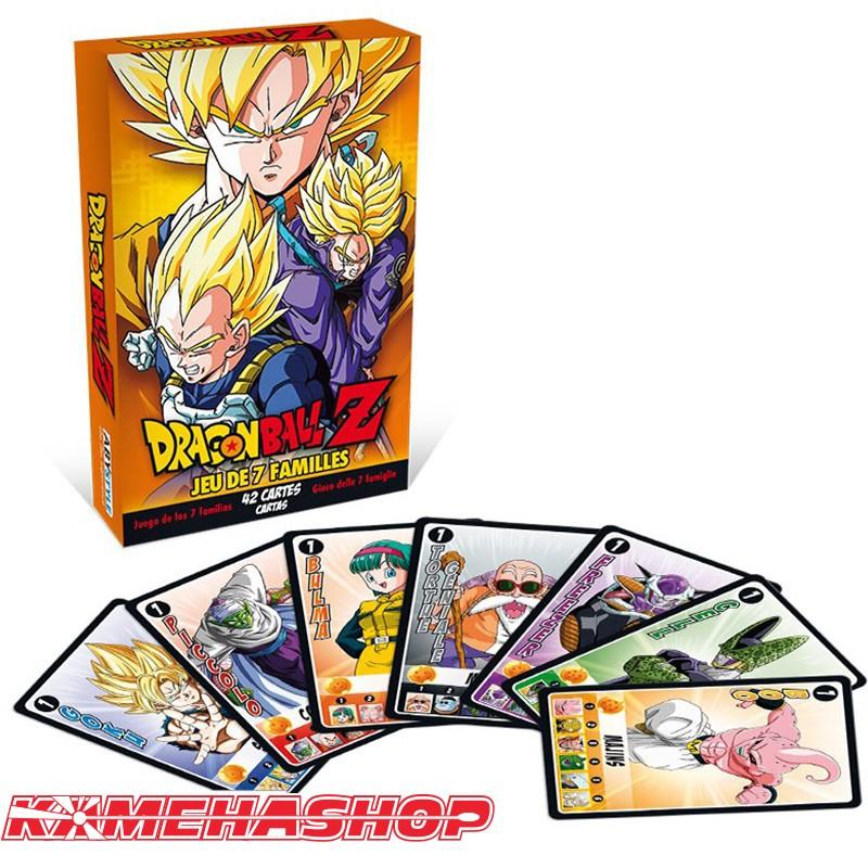 Dragon Ball Z - Jeu de 7 Familles DBZ  -  DRAGON BALL Z