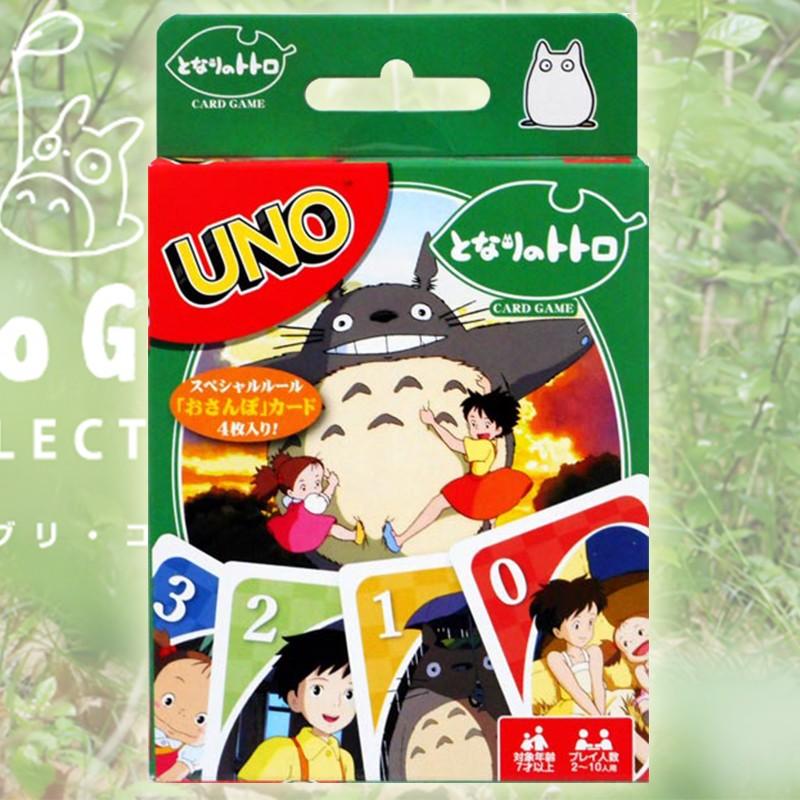 Jeu de Uno Mon Voisin Totoro  -  TOTORO - GHIBLI