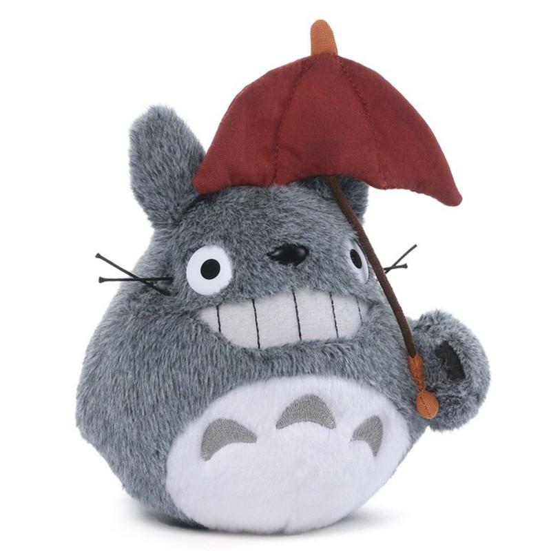 Peluche Totoro Parapluie Rouge  -  TOTORO - GHIBLI