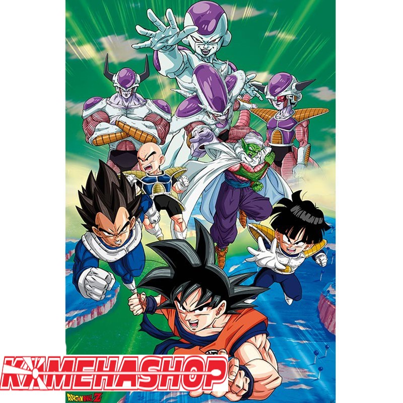 Poster Dragon Ball Z Arc Freezer  -  DRAGON BALL Z