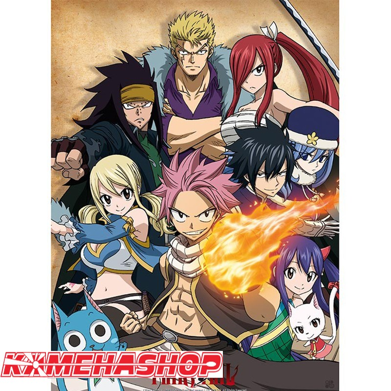 Poster Fairy Tail Team  -  FAIRY TAIL