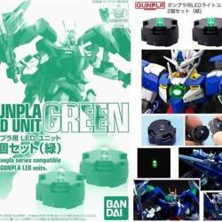 Gundam MG set 2 LEDS vertes  -  GUNDAM