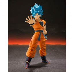 Figurine Goku Blue SH Figuarts  -  DRAGON BALL Z