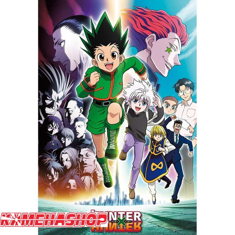 Poster Hunter X Hunter - Brigade Fantôme  - POSTERS & AFFICHES