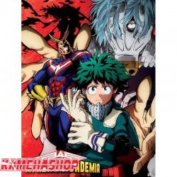 Poster My Hero Academia Deku vs Tomura  - POSTERS & AFFICHES