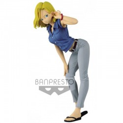 Figurine Android 18 - Glitter & Glamours II ver A  -  DRAGON BALL Z