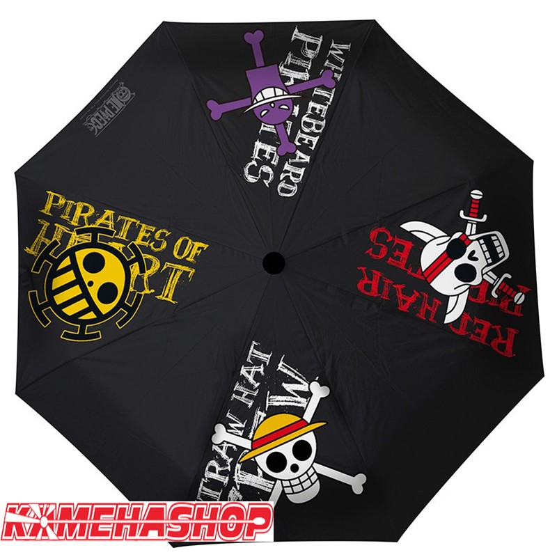 Parapluie One Piece Emblèmes Pirates  -  ONE PIECE
