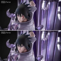 Sasuke Uchiha Summon of susanoo HQS Tsume  -  NARUTO