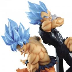 Figurines Goku Blue & Vegeta Blue - Tag Fighters  -  DRAGON BALL Z