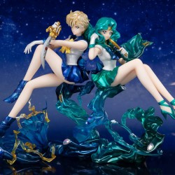 Set 2 Figurines Sailor Neptune & Sailor Uranus  - SAILOR MOON