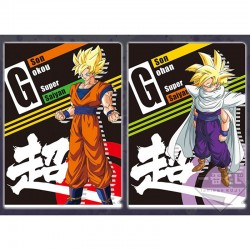 Set 2 Portes Document Goku SSJ & Gohan SSJ  -  DRAGON BALL Z