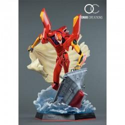 Figurine Eva-02 First Appearance - Oniri  - AUTRES FIGURINES