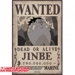 Affiche Wanted Jinbe  - Posters & Affiches