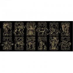 Saint Seiya - Mug Armures d'Or  -  SAINT SEIYA