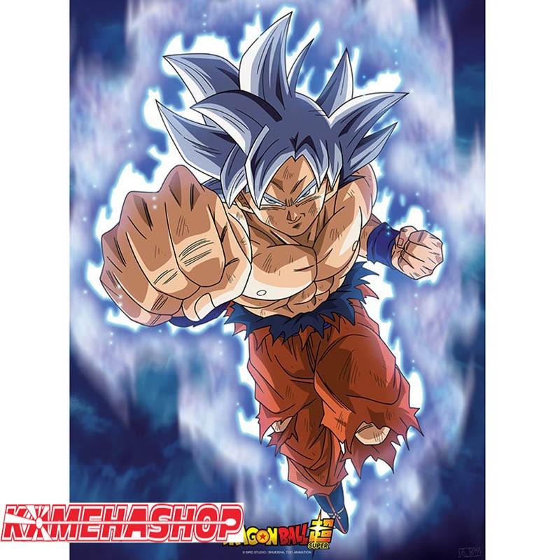 Poster Goku Ultra Instinct  -  DRAGON BALL Z