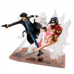 Cowboy Bebop - Set 2 figurines Spike & Faye  - AUTRES FIGURINES