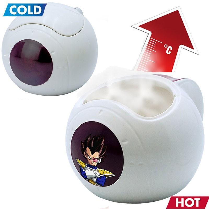 Mug Vegeta Saiyan Pod Thermo-réactif  -  DRAGON BALL Z