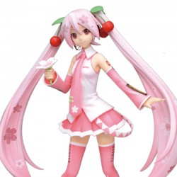 Figurine Miku Hatsune Sakura Super Premium ver  - FIGURINES FILLES SEXY