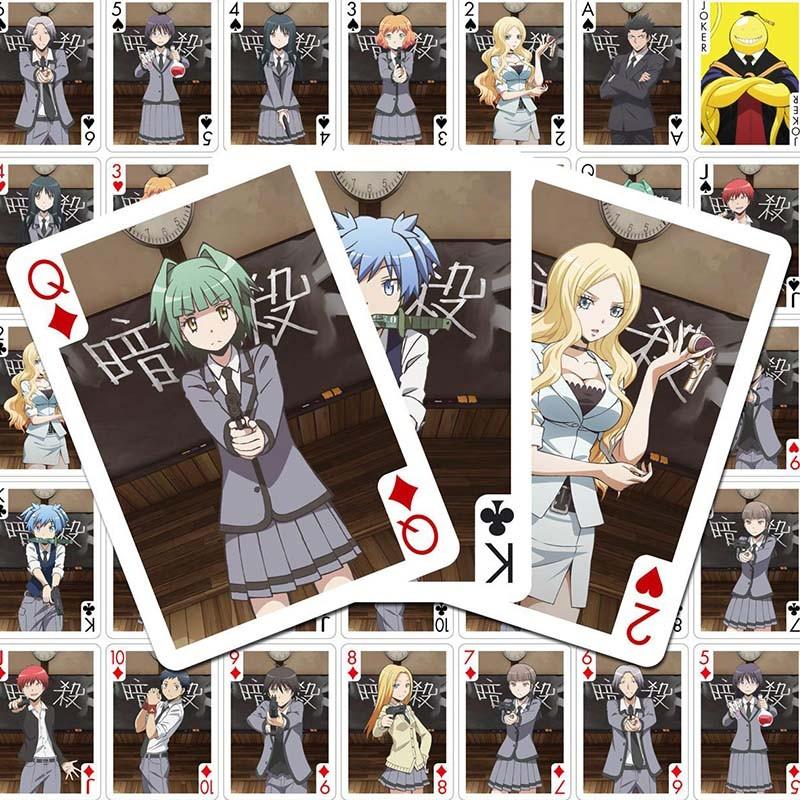 Assassination Classroom - jeu de cartes à jouer  - AUTRES GOODIES