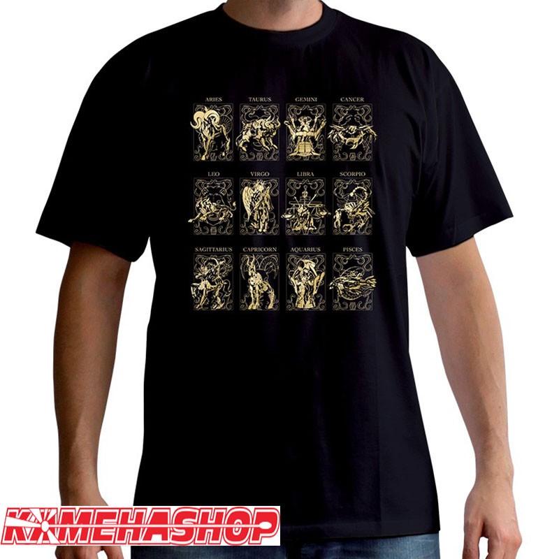 Saint Seiya - T-shirt des 12 Armures d'Or  -  SAINT SEIYA