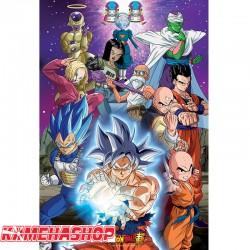 Dragon Ball Super - Poster Univers 7  -  DRAGON BALL Z