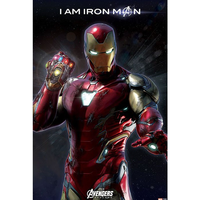Avengers Endgame - Poster Iron Man  - POSTERS & AFFICHES