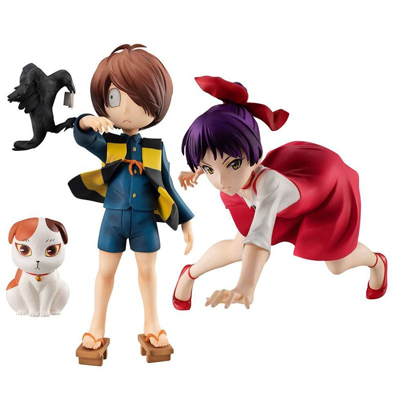 GeGeGe No Kitaro - Figurine Neko Musume et Kitaro  - AUTRES FIGURINES