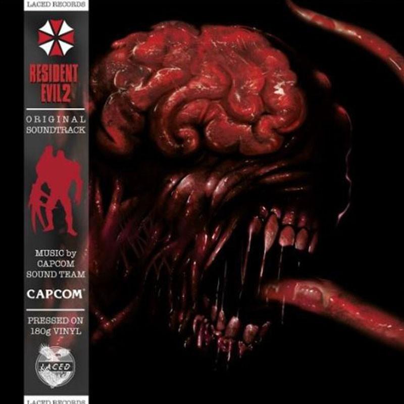 Resident Evil 2 OST 2 x Vinyle LP  - VINYLE MANGA & JEUX VIDEO